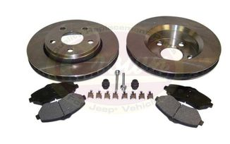 Disc Brake Service Kit (Front JK) (52060137K / JM-00554 / Crown Automotive)