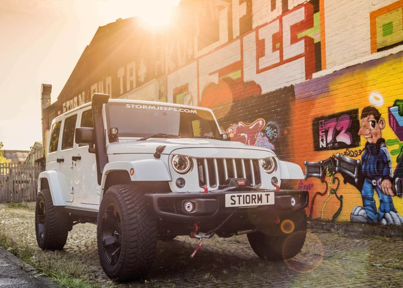 STORM-17, 2016 Jeep Wrangler 75th Anniversary 4 Door 2.8 CRD