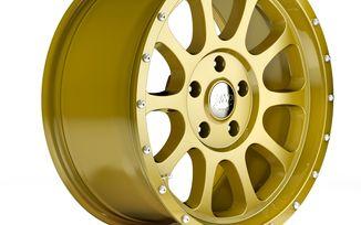 1450 Series Wheel, Gold 18x8.5 (ET32), JL (1450.12 / JM-04549 / DuraTrail)