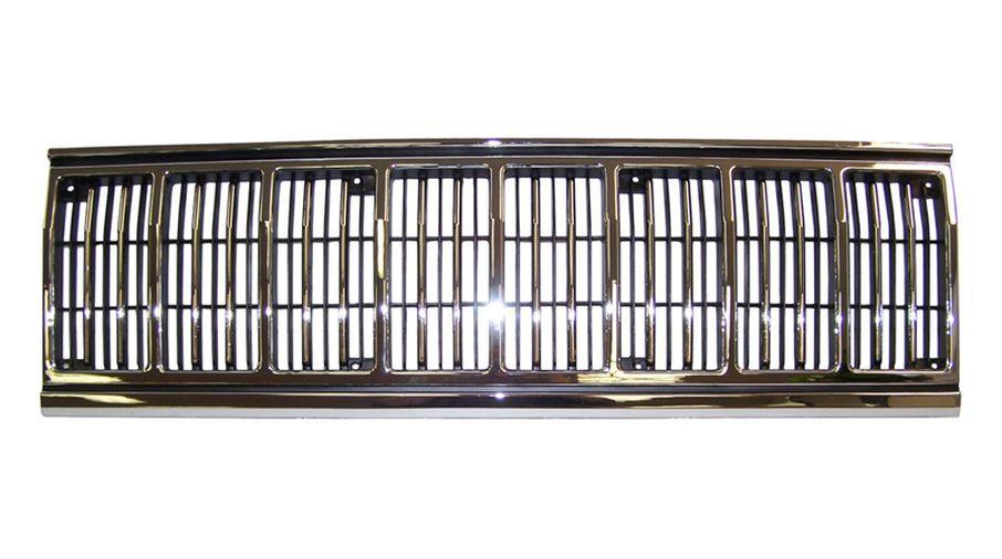 Grille (Chrome/Black) (55034046 / JM-04971 / Crown Automotive)