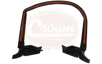 Liftgate Glass Seal, Lower (2007-2010) (55397042AE / JM-01985 / Crown Automotive)
