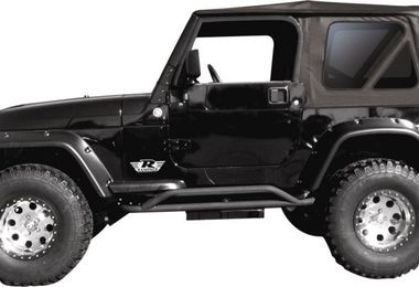 Replacement Soft Top, TJ, Black Denim (Tinted Windows) (RT10215T / JM-00219 / RT Off-Road)