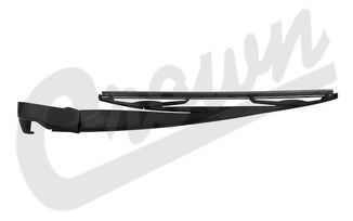 Wiper Arm & Blade (Rear), JK (68002490AB / JM-04268 / Crown Automotive)