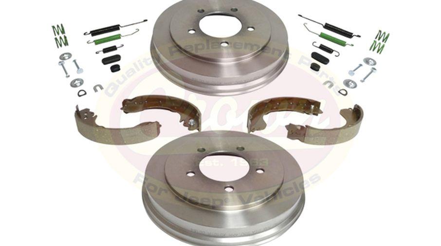 Drum Brake Service Kit - Patriot & Compass (5105617K / JM-03226 / Crown Automotive)