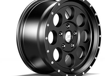 1426 Series Wheel, Black 17x8.5 (ET32), JL  / JT (1426.40 / JM-05723 / DuraTrail)