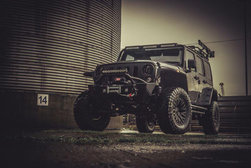 STORM-10, 2016 Jeep Wrangler 4 Door 3.6L V6