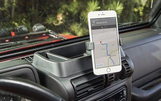 Dash Multi-Mount, With Phone Holder, TJ (13551.19 / JM-04286 / Rugged Ridge)