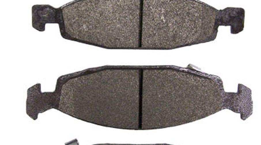 Front Disc Brake Pad Set, WJ Teves (Titanium) (5011969TI / JM-00105 / Crown Automotive)