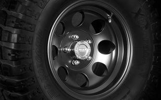 Black Alloy Wheel, 15x8 (1430.23 / JM-03138 / DuraTrail)