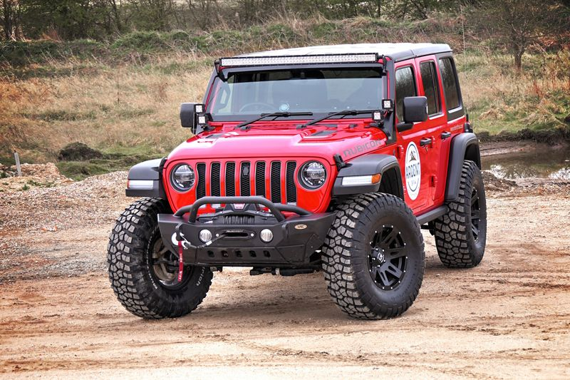 STORM-33, 2018 Jeep Wrangler JL Rubicon 4 Door 2.2L