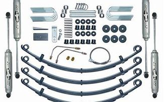 "2,5"" RUBICON EXPRESS LIFT KIT SUSPENSION - JEEP WRANGLER YJ (RE5505 / JM-00369 / Rubicon Express)"