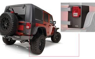 Trail Armor Rear Corner, 4 Door JK (14010 / JM-02864 / Bushwacker)