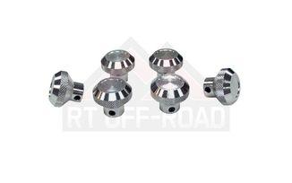 6 - Piece Knob Set (ALUMINUM) (RT27001 / JM-01962 / RT Off-Road)