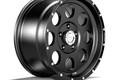 1422 Series Wheel, Black 17x9 (ET16) (1422.45 / JM-04304 / DuraTrail)