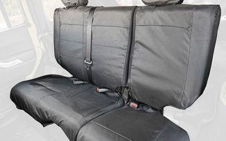 Ballistic Seat Cover, Rear, JKU 4 Door (13266.08 / JM-04696 / Rugged Ridge)