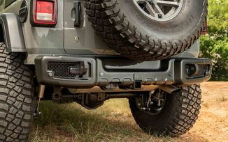 Spartacus Rear Bumper, JL (11544.25 / JM-05721 / Rugged Ridge)