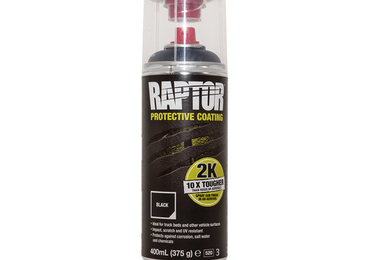 Raptor 2k Aerosol, Black (DA6644 / JM-00805 / U-POL)