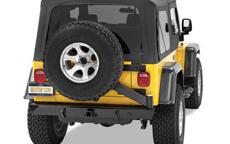 Rear Bumper 4x4 with tire carrier rear (42931-01 / JM-02998 / Bestop)