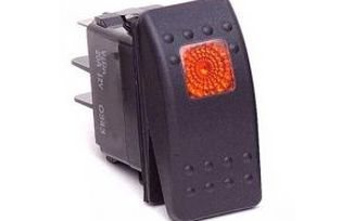 Rocker Switch, Orange (DAYKU80013 / JM-03083 / Daystar)