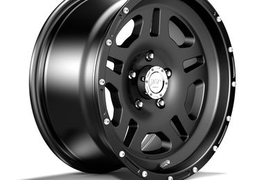 1440 Series Wheel, Black 17x8.5 (ET10) (1440.10 / JM-04305 / DuraTrail)