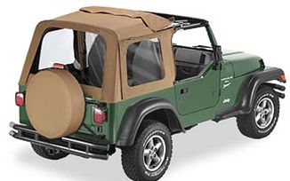 Sunrider Complete Soft Top For 1997-2002 Wrangler, Spice (51699-37 / JM-03366 / Bestop)