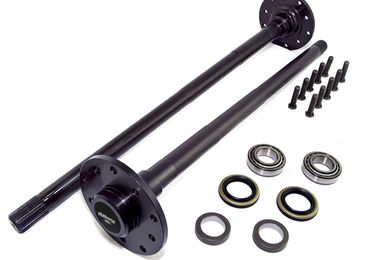 Chromoly Performance Axle Shaft Kit, Dana 44 (12235 / JM-02141 / Alloy USA)