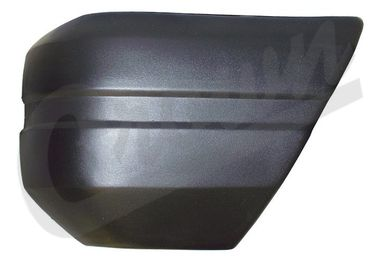 Bumper Cap (Front Left, Black) (52000179 / JM-03399 / Crown Automotive)