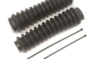 Black Poly-Vinyl Shock Boots (EXP12127 / JM-05792 / Pro Comp)