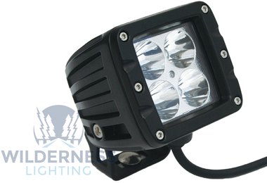 Compact 4 LED Light - Flood Beam (WDD0039 / JM-04864 / Wilderness Lighting)