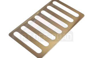 Hood Vent Cover (Stainless Steel), JK (RT34078 / JM-01581 / RT Off-Road)