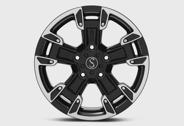 FK2, Black Diamond Cut, 17x8 (ET10), JL, JK (JM-05090 / Sterling Automotive Design)