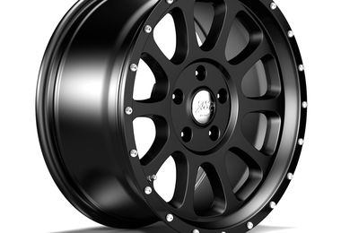 1450 Series Wheel, Black 18x8.5 (ET32), JL (1450.10 / JM-04547 / DuraTrail)