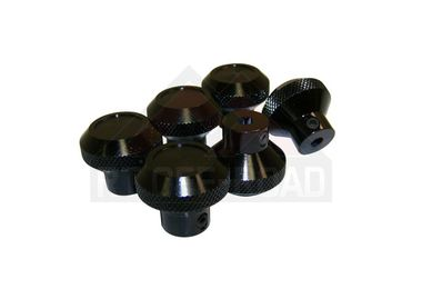 6 - Piece Knob Set (BLACK) (RT27002 / JM-01963 / RT Off-Road)