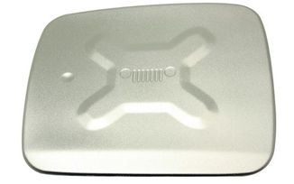 Fuel Flap Cover, Silver, Renegade (TF4261 / JM-05371 / Terrafirma)