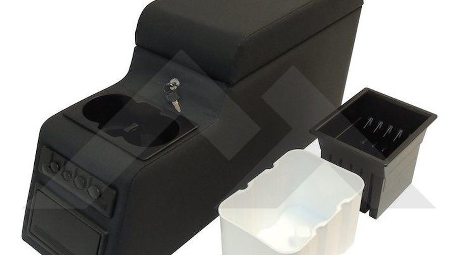 Deluxe Locking Center Console (Black Denim) (RT27009 / JM-01964 / RT Off-Road)