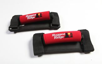 Neoprene Grab Handles, Red (13305.31 / JM-05027 / Rugged Ridge)