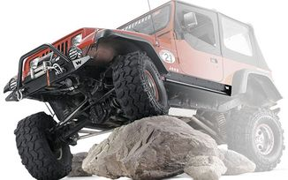 Rock Sliders, Warn, YJ (63003 / JM-02092 / Warn)