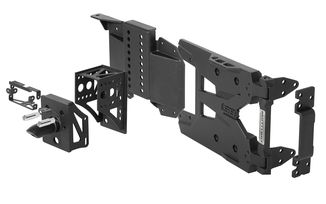 HD Pivot Tyre Carrier Kit, JL (SB7743 / JM-05720 / Smittybilt)