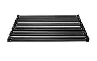 Nebo Roof Rack 6-Piece Cargo Slat Kit - Black, JK (4722060 / JM-04792 / TeraFlex)