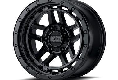 XD140 Recon, 17x8.5 (ET18), Black (XD14078550718 / JM-04575 / XD Series)