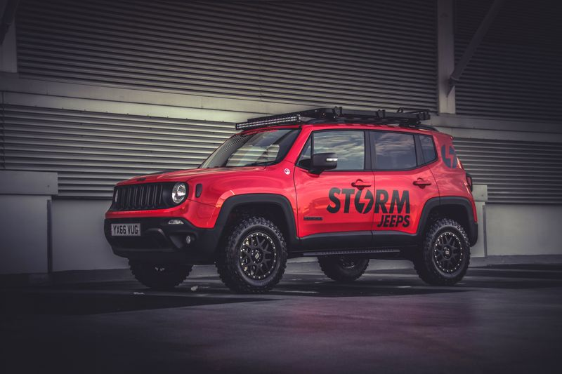 Jeep Renegade Roof >> Storm Jeeps - A New Concept in Custom Jeep Builds