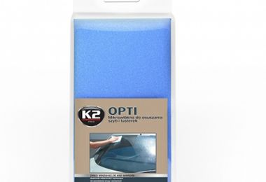 Opti microfibre cloth for windshield and mirror drying (M430K2 / JM-05254 / Crown Automotive)