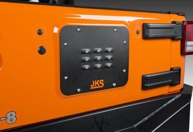 Tailgate Vent Cover, JK (JKS8200 / JM-03087 / JKS Manufacturing)