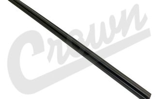 Door Glass Seal (Front Left Inner) (55135899AE / JM-03993 / Crown Automotive)