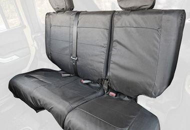 Ballistic Seat Cover, Rear, JKU 4 Door (13266.08 / JM-04696 / Rugged Ridge)