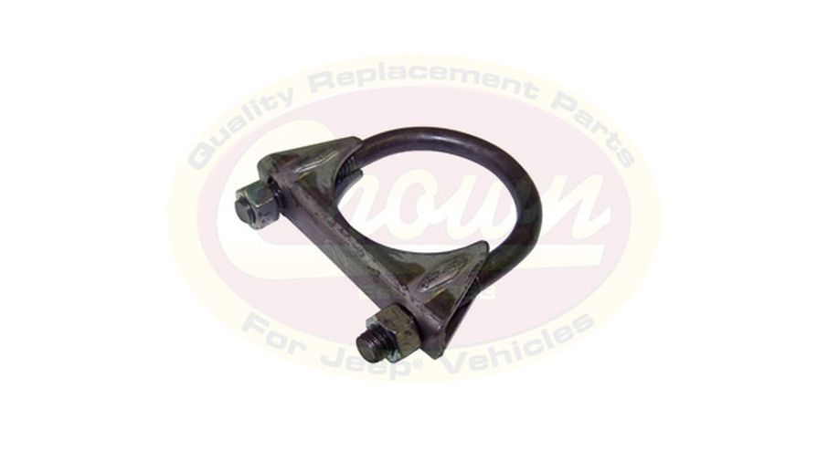"Exhaust Clamp - 2.00"" (J8126663 / JM-03402 / Crown Automotive)"
