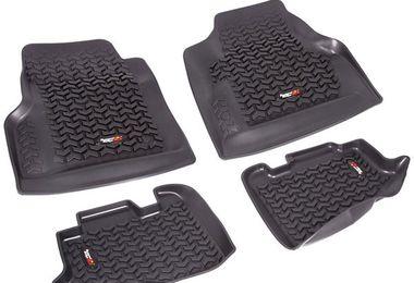 Floor Liner Kit, Front & Rear, TJ (12987.10 / JM-02361 / Rugged Ridge)
