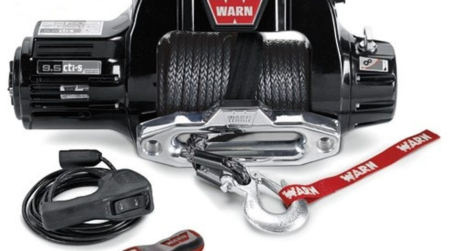 WARN 9 5CTI Winch With Synthetic Rope