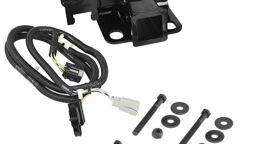 Awe Inspiring Receiver Hitch Kit With Wiring Harness Jk 11580 51 Jeepey Wiring Cloud Pimpapsuggs Outletorg