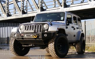SOLD - Jeep Wranger Unlimited 2.8CRD Sahara 2008 (YY08 YCR)